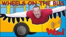Wheels On The Bus Go with Steve and Maggie   Learn Free Speaking with Wow English TV