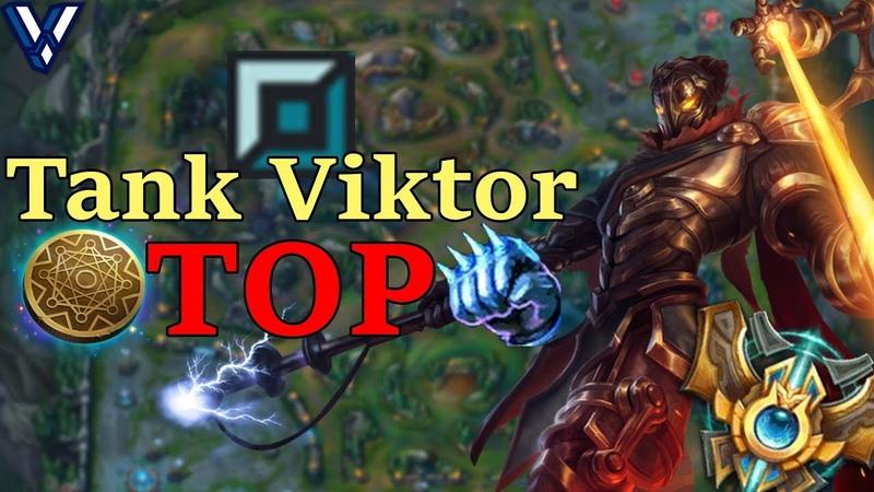 New KOREAN OP Tank Viktor Top Lane