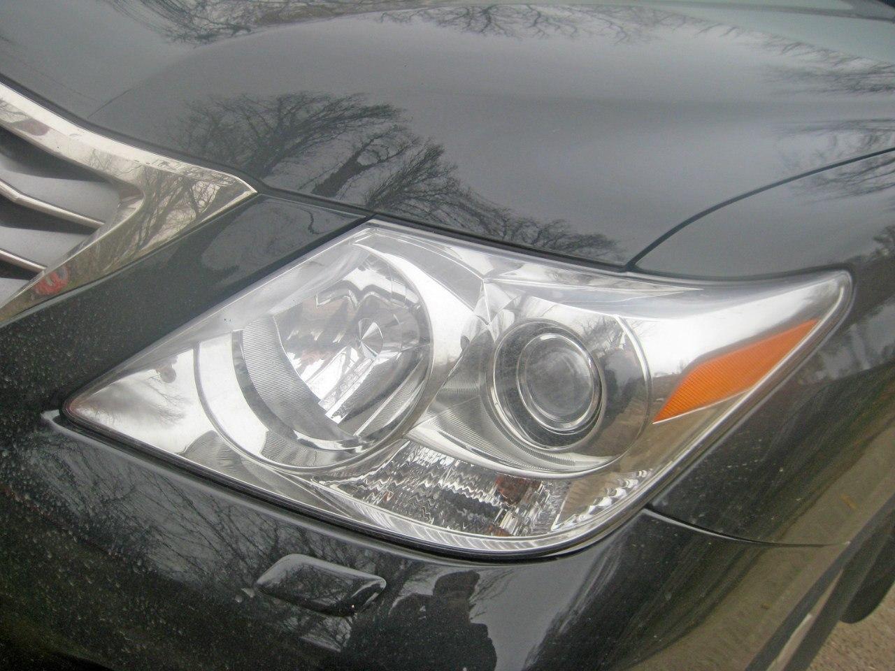 Передняя оптика Lexus LX 570 2011