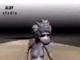 дагестанский рептилоид отплясывает родную лезгиночку ну вы посмотрите блять