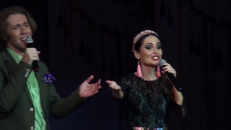 Юлия Снежина и Евгений Южин - Гляжу в озёра синие
