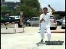 Swing of thai sword Master Praeng
