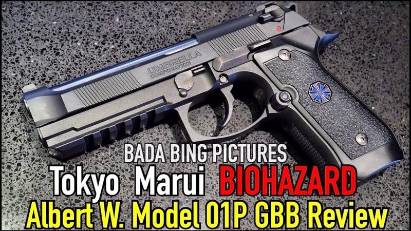 Tokyo Marui Samurai Edge Albert W. Model 01P GBB Review