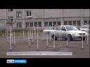 В Вятском прошли полицейские соревнования по автомобильному многоборью