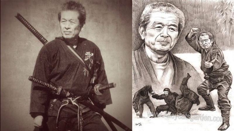 Ninjutsu Grandmaster Masaaki Hatsumi in Action Part 16 HD Widescreen
