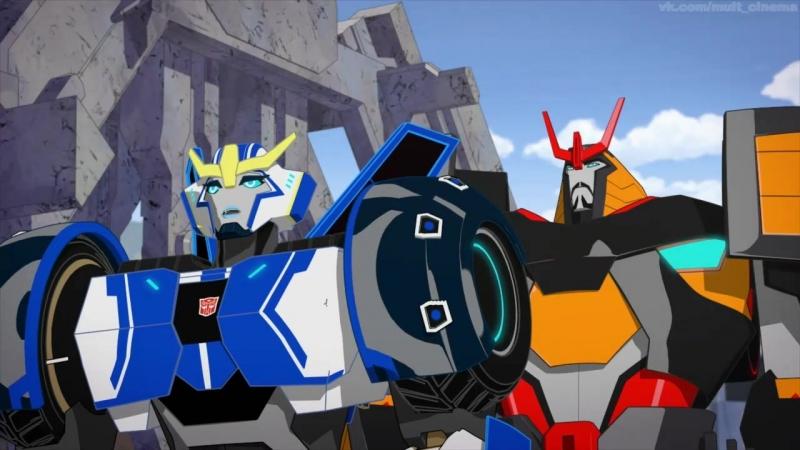 Трансформеры: Роботы под прикрытием 4 сезон 1-13 серии