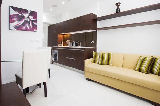Дизайн маленькой квартиры-студии 18 м в Лондоне / Великобритания - http://kvartirastudio.