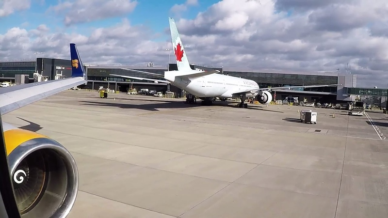 Icelandair Boeing 767-300ER vs. Storm Doris: Engine Start and Takeoff from London Heathrow