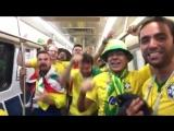Everybody stops. - We have the chant of Russia 2018, reply to Brazil decime que se siente - - O Di Maria, - O Mascherano, - O Me