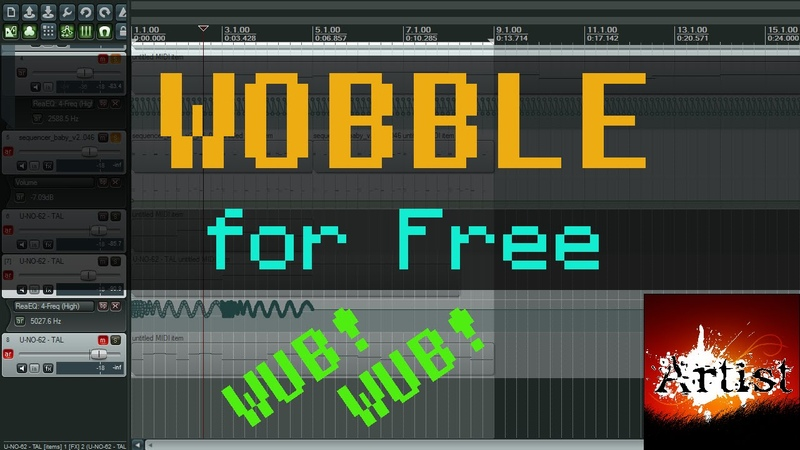 Wobble Bass in Reaper using only native Reaper or free plugins