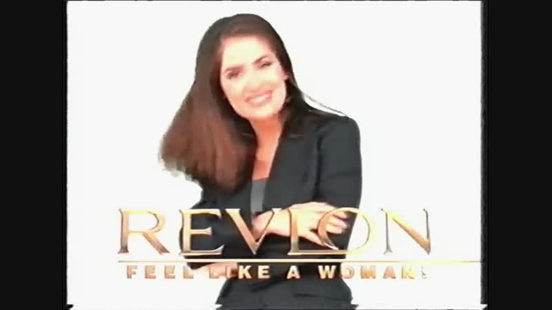 Сальма Хайек в рекламе «Revlon» | 1999