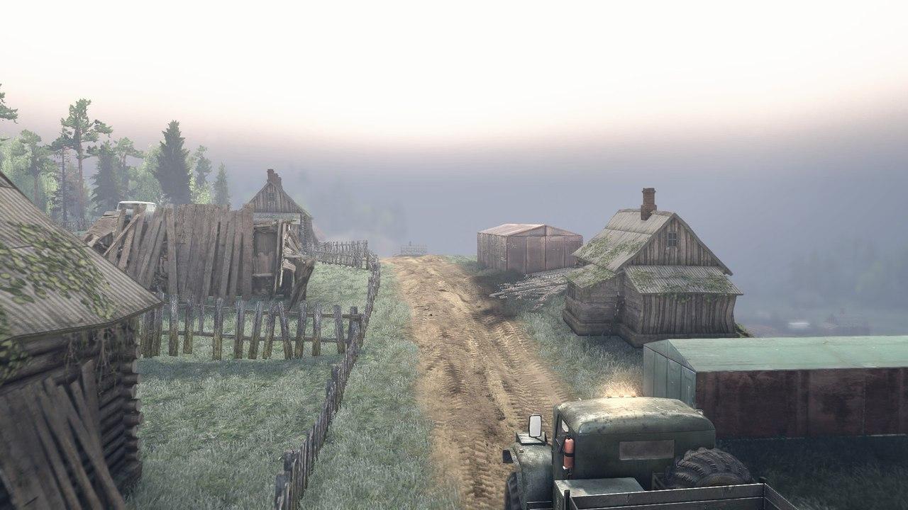 """Карта """"Озера"""" для Spintires - Скриншот 2"""