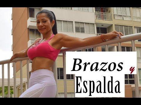 BRAZOS y ESPALDA definidos en 30 minutos| Rutina 625 | Dey Palencia Reyes
