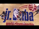 Team Africa Middle East Battle Team Central In Inaugural Jr NBA World Championship NBANews NBA