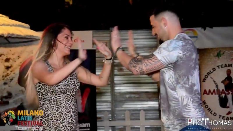 Daniel y Desiree @ Milano Latin Festival 2018