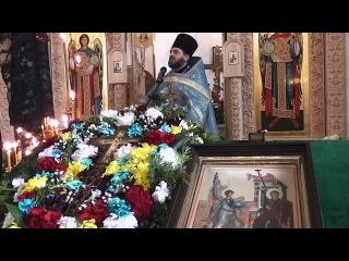 Проповедь в Крестопоклонную неделю и Праздник Благовещения.