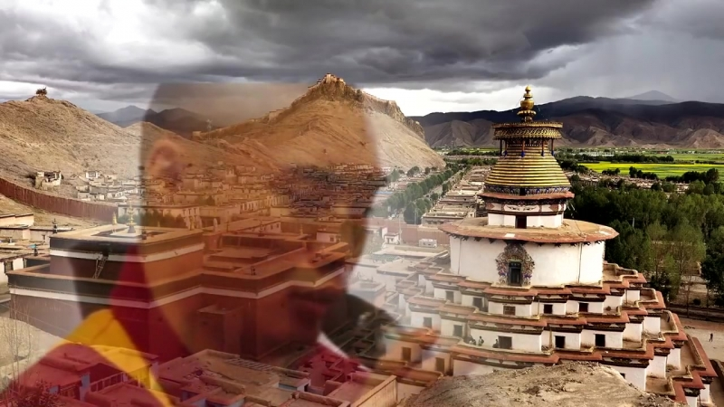Поющие тибетские монахи. Горловое пение