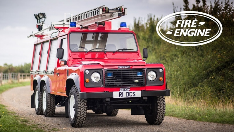 Is This 6x6 Fire Engine The Coolest Land Rover Defender - Carfection