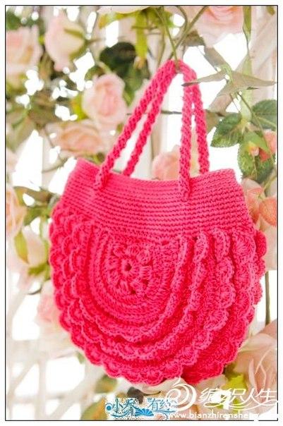 Delicadezas en crochet Gabriela 25 Moldes de Bolsos en ganchillo con patrones gratis