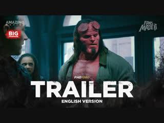 ENG | Трейлер: «Хеллбой» / «Hellboy», 2019