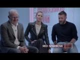 2018 | Эксклюзивное интервью Джоэла, Дженнифер Лоуренс и Френсиса Лоуренса с новым отрывком из фильма «Красный Воробей» | HBO