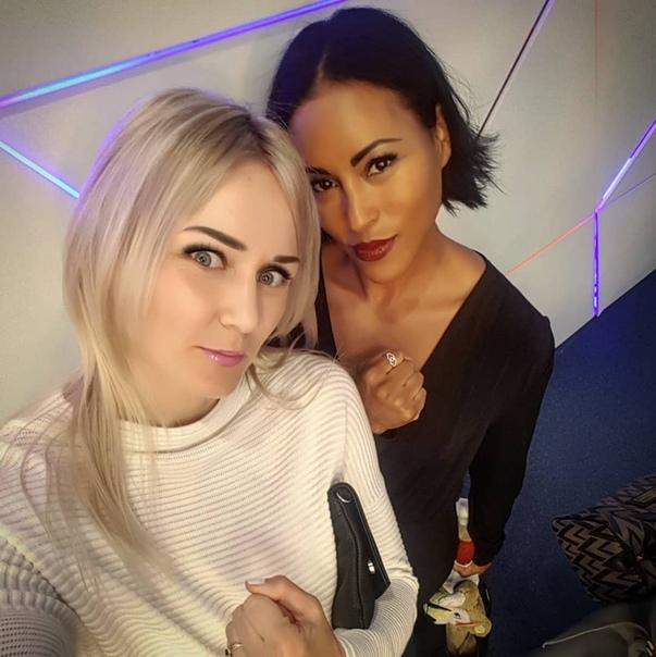 Инна Сагайдаковская и Сесилия Брекхус