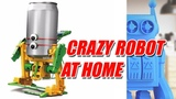 Crazy Robot Using Only One DC Motor easy for kids