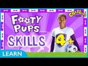 CBeebies | Footy Pups Football Skills | 4 Minutes