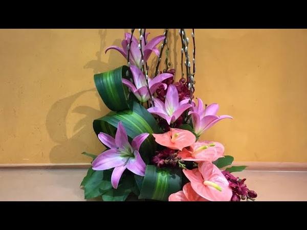 B184 2019賀年鮮花擺設 chinese New Year Arrangement