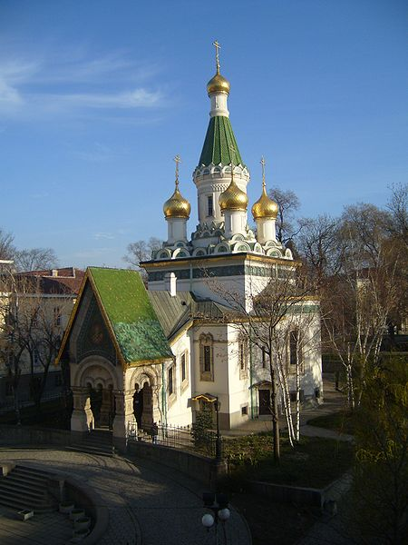 В честь русских воинов в церкви
