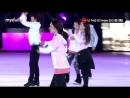 Алина Загитова и Евгения Медведева на шоу в Корее