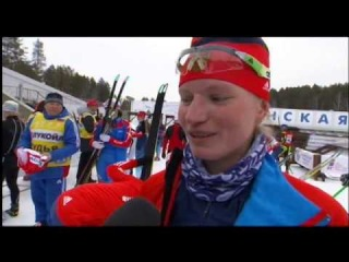 ТРТР (26.03.14) Тюмень 25-го марта чемпионат России по лыжным гонкам скиатлон (с комментариями Натальи Жуковой и Станислава Волженцева).  http://youtu.be/DoEjq0mXdtM