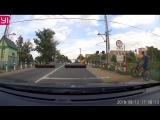 Поезд призрак на Ж/Д переезде Можайского шоссе