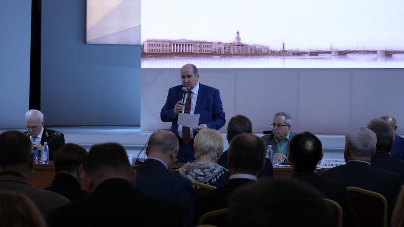 Заседание МОО Совет ректоров вузов Санкт Петербурга и Ленинградской области 13.11.18
