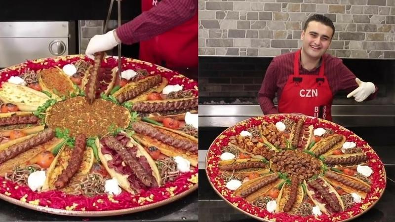 Посмотри как классно он готовить Турецкий повар Бурак Оздемир