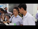 China World's first VR smartphone showcased at the China Hi Tech Fair in Shenzhen