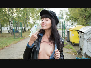 [publicagent] sasha colibri - mouthful of cum for sexy brunette new porn 2019