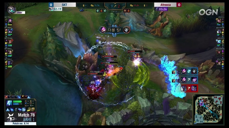 SKT Thal with the Kennen flank