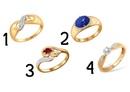 Выбранное подсознательно кольцо, расскажет что в вас самое сексуальное