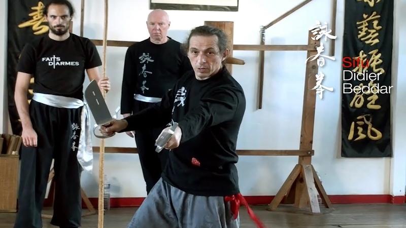 Wing Chun Bart Jam Dao par Sifu Didier Beddar
