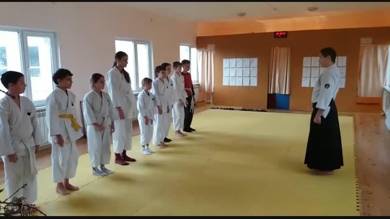Повторение элементов Классической Гимнастики и строевой подготовки Клуб Акайкан ст Северская