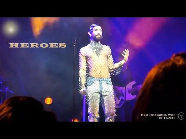 Heroes - ConchitaSWSG - Wien MQ, 08.12.2018
