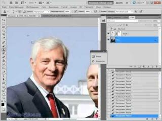 Фотошоп Онлайн. Урок №36 - Замена лица в Photoshop
