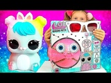 LOL Biggie Pets Big HOP HOP ! Toys and Dolls Fun for Kids Opening Eye Spy Blind Bags Nastushik