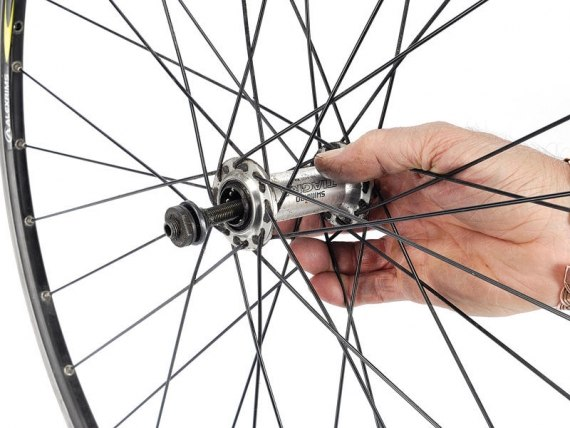 ремонт переднего колеса велосипеда оценочные
