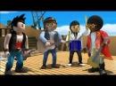 Playmobil - Тайна острова пиратов (мультфильм дублирован на греческий язык)