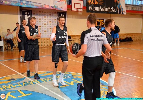 "МЛБЛ К.о., ""КФ МГТУ"" vs ""Pro Basket"", 09.12.18"