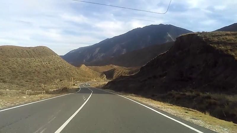 Горы Ботлихского района, дорога в Махачкалу, ноябрь 2018   туризм в Дагестане
