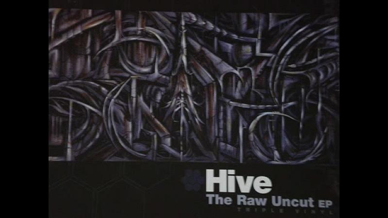 D.J. HIVE - RAW (UNCUT EP-MIX, TRIPLE-VYNIL)