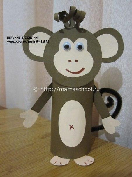 Как сделать объемную обезьянку своими руками
